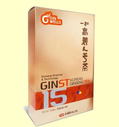 GINST15 Te Ginseng Coreano IL HWA 300 - Tongil - 100 sobres solubles