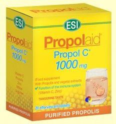 Propol C Efervescente - Laboratorios ESI - 20 pastillas