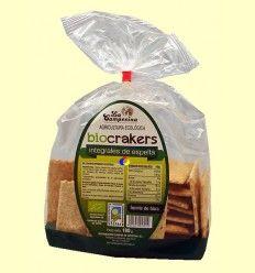 Bio Crakers Integrales de Espelta - La Campesina - 180 gramos