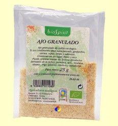 Ajo granulado ecológico - BioSpirit - 25 gramos