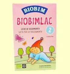 Biobimlac 2 - +6 meses - Leche de seguimiento ecológica - Biobim - 450 gramos