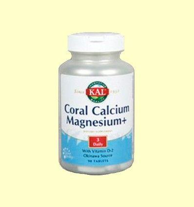 Coral Calcium Magnesium - Laboratorios Kal - 90 comprimidos