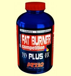 Fat Burner Plus Competition - Lipotrópico + termogénico - Mega Plus - 200 comprimidos