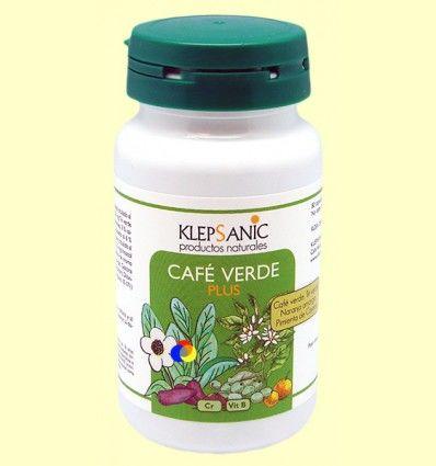 Café Verde plus - Klepsanic - 80 cápsulas *