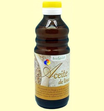 Aceite de Lino Bio - Linaza - BioSpirit - 250 ml