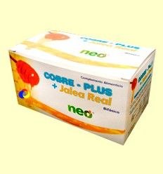 Cobre Plus + Jalea Real - Neo - 15 viales