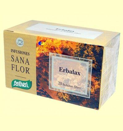 Erbalax Infusiones - Santiveri - 20 bolsitas