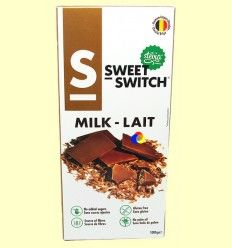Chocolate con Leche con Stevia - Sweet Switch - 100 gramos