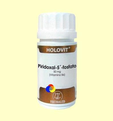 Holovit Piridoxal-5-fosfato 500 mg - Equisalud - 50 cápsulas