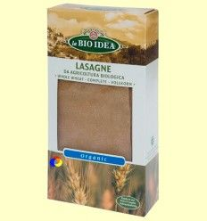 Lasin - Lasaña integral bio - BioSpirit - 250 gramos