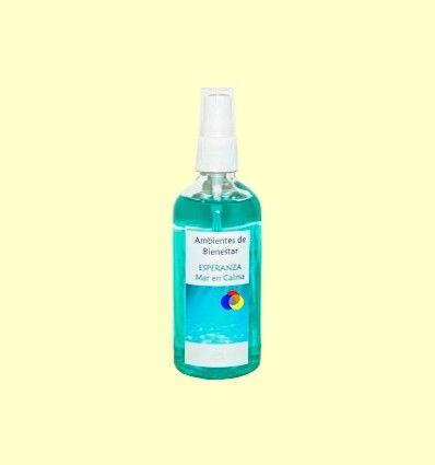 Mar en Calma - Esperanza - Armonizador Ambiental Floral Cromoterapia - Lotus Blanc - 100 ml