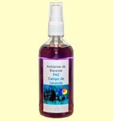 Campo de Lavanda - Paz - Armonizador Ambiental Floral Cromoterapia - Lotus Blanc - 100 ml