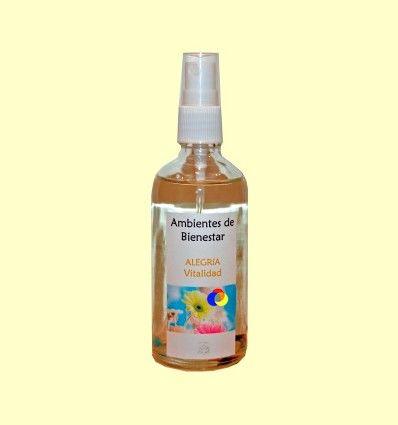 Vitalidad - Alegría - Armonizador Ambiental Floral Gemoterapia - Lotus Blanc - 100 ml