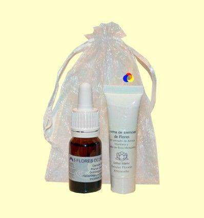 Set Crema Esencia de Flores 10 ml y Elixir Remedio de Urgencia 10 ml - Lotus Blanc