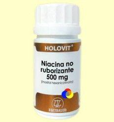 Holovit Niacina no Ruborizante 500 mg - Equisalud - 50 cápsulas