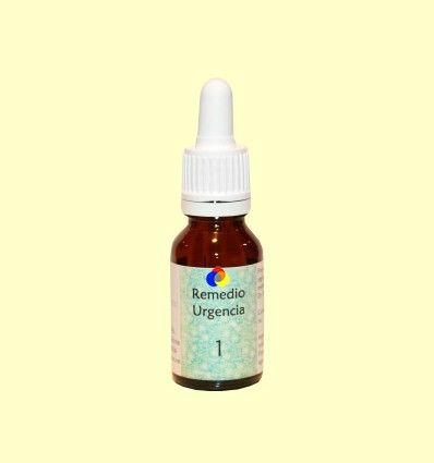 1 Remedio de Urgencia - Compuesto Floral Lotus Blanc - 15 ml