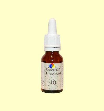 10 Embarazo Armonioso - Preparado floral Lotus Blanc - 15 ml