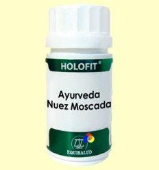 Holofit Ayurveda Nuez Moscada - Equisalud - 50 cápsulas
