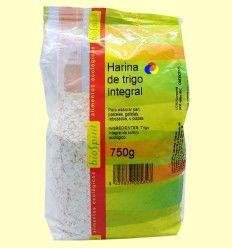 Harina de trigo integral Bio - BioSpirit - 750 gramos