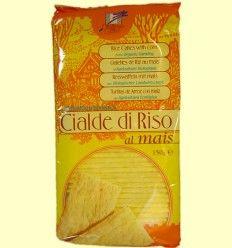 Tostas arroz maíz - bio - La Finestra Sul Cielo - 150 gramo