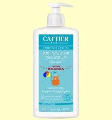 Gel de ducha suave para niños - Cattier - 500 ml ******