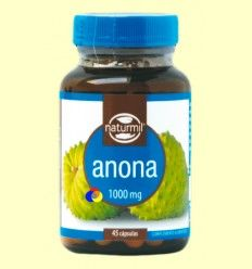Graviola (Anona) 1000 mg - Naturmil - 45 cápsulas