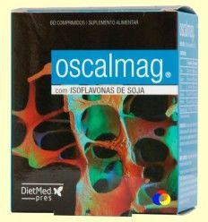 Oscalmag con Isoflavonas de Soja - DietMed - 60 comprimidos