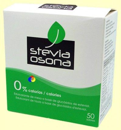 Extracto de Stevia en polvo - Stevia Osona - 50 sobres
