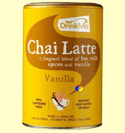 Chai Latte Vanilla Soluble - Drink Me Chai - 250 gramos