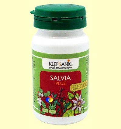 Salvia Plus - Klepsanic - 80 cápsulas *