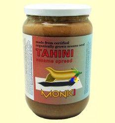 Tahin Bio Sin Sal - Monki - 650 gramos