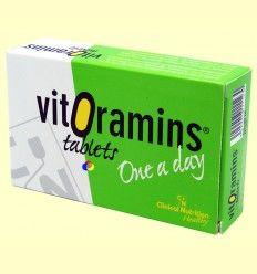 Vitoramins - Vitaminas y minerales - CN Dietéticos - 36 comprimidos