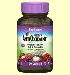 Super Earth® Formula antioxidante - Bluebonnet - 30 comprimidos ******
