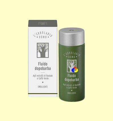 Fluido después del Afeitado a los Extractos de Baobab y Té Verde - L'Erbolario - Uomo - 120 ml