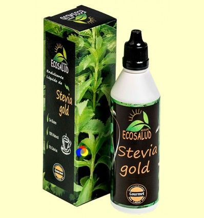 Stevia Líquida Serie Gold - Ecosalud Alnaec - 90 ml