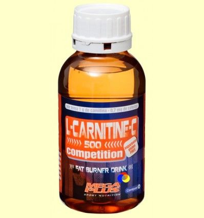 L-Carnitina 500 Con Cafeína - Mega Plus - 500 ml *