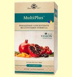 Multiplus Vision - Solgar - 90 comprimidos *