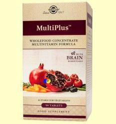 Multiplus Brain - Apoyo Cerebral - Solgar - 90 comprimidos