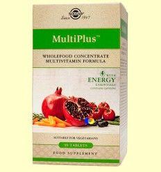 Multiplus Energy - Solgar - 90 comprimidos