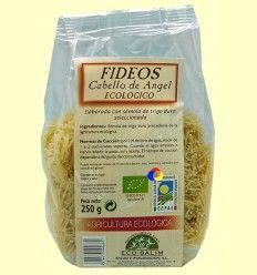 Fideos Cabello de Ángel Ecológicos - Eco-Salim - 250 gramos