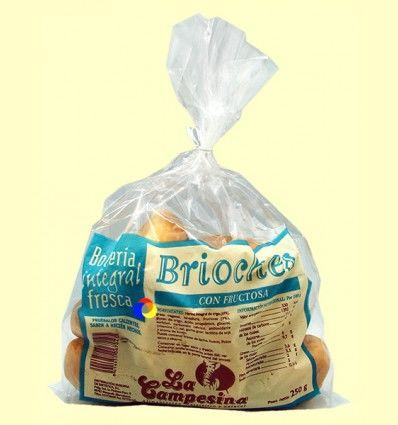 Brioches Integrales con Fructosa - La Campesina - 250 gramos