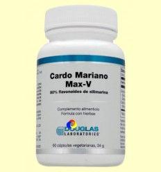 Cardo Mariano Max-V - Laboratorios Douglas - 60 cápsulas vegetales