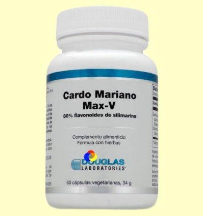 Cardo Mariano Max-V - Laboratorios Douglas - 60 cápsulas vegetales *