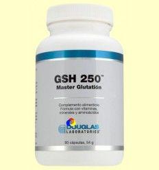 Gsh 250 Master Glutation - Laboratorios Douglas - 90 cápsulas