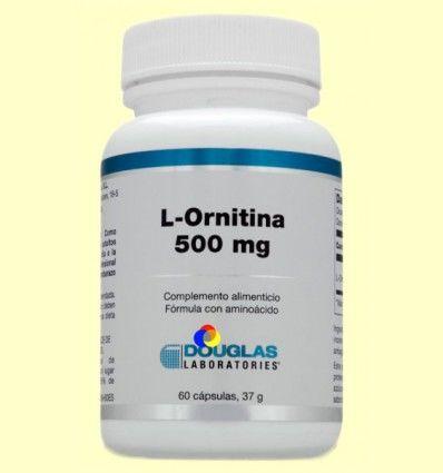 Max-Carnitina 500 mg - Laboratorios Douglas - 60 cápsulas