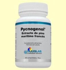 Pycnogenol - Extracto de Pino Marino Francés 50mg - Laboratorios Douglas - 90 comprimidos