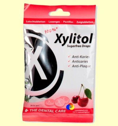 Xylitol pastillas sabor Cereza - Miradent - 26 unidades