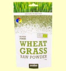 Hierba de trigo en polvo - Purasana - 200 gramos