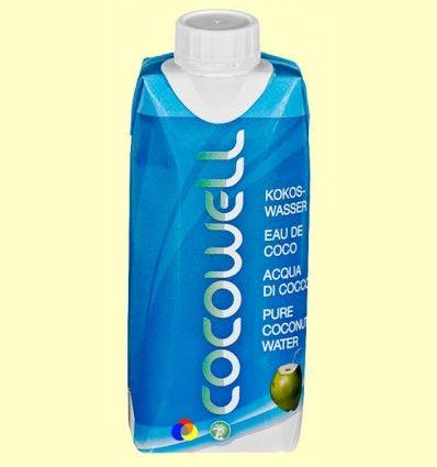 Cocowell - Agua de Coco - 100% Natural - 1 litro