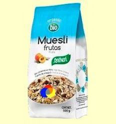 Muesli Frutas Bio - Santiveri - 500 gramos